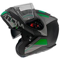 Mt Helmets Atom Sv Quark A6 Modular Helmet Green
