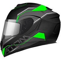Casco Modulare Mt Helmets Atom Sv Quark A6 Verde