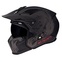 Mt Helmets Streetfighter Sv Darkness A2 Grigio