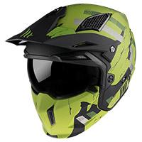 Mt Helmets Streetfighter Sv Skull A16 Verde Opaco
