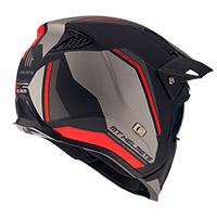 Mt Helmets Streetfighter Sv Twin C5 Rosso Opaco