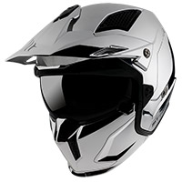 Mt Helmets Streetfighter Sv Chromed A2 Argento