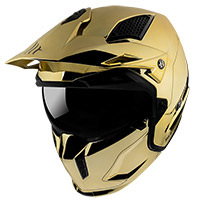 Mt Helmets Streetfighter Sv Chromed A9 Gold