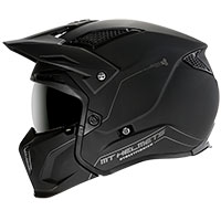 Mt Helmets Streetfighter Sv Solid A1 Nero Opaco