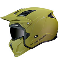 Mt Helmets Streetfighter Sv Solid A1 Matt Green