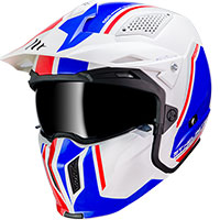 Mt Helmets Streetfighter Sv Twin B7 Bianco Pearl