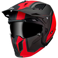 Mt Helmets Streetfighter Sv Twin C5 Matt Red