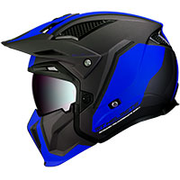 Mt Helmets Streetfighter Sv Twin C7 Matt Blue
