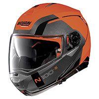 Nolan N100.5 一貫性のある N-com フラット Led オレンジ