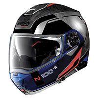 Nolan N100.5 一貫性の N-com はクロームに傷