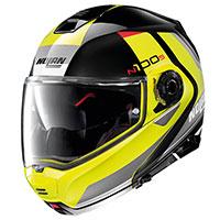 Nolan N100.5 Hilltop N-com Glossy Black Yellow