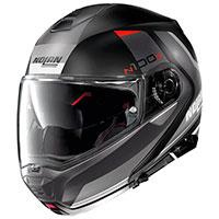 Nolan N100.5 Hilltop N-com Flat Black Grey