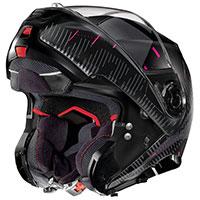 Nolan N100.5 Lightspeed N-com Pink Flat Black