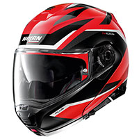 Nolan N100.5 Plus Overland N-com Rosso Corsa