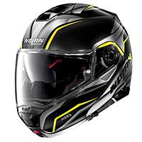 Nolan N100.5 Balteus N-com Yellow Glossy Black