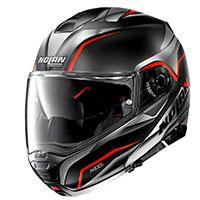 Nolan N100.5 Balteus N-com Red Flat Black
