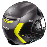 Nolan N100.5 Plus Distinctive N-com Lava Yellow