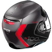 Nolan N100.5 Plus Distinctive N-com Lava Rosso