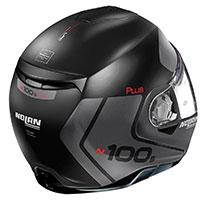 Nolan N100.5 Plus Distinctive N-com Nero Opaco