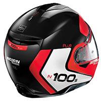 Nolan N100.5 Plus Distinctive N-com Rosso Lucido