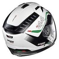 Nolan N44 Evo Viewpoint N-com White Green