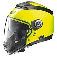 Nolan N44 Evo N-com Hi Visibility Fluo Yellow