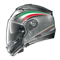 Nolan N44 Evo N-com Italy Scratched Chrome