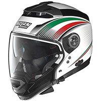 Nolan N44 Evo N-com Italy Metal White