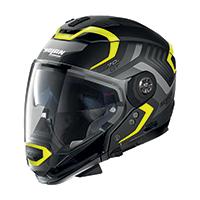 Nolan N70.2 Gt Spinnaker N-com Yellow Black Matt