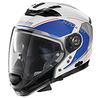 Nolan N70.2 Gt Lakota N-com Metal White Blue