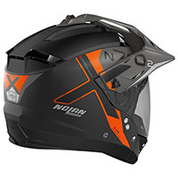 Nolan N70.2x Bungee N-com Orange Flat Black