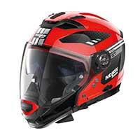 Nolan N70.2 Gt Bellavista N-com Modular Helmet Corsa Red