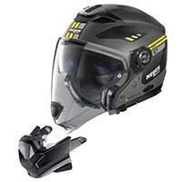Nolan N70.2 Gt Bellavista N-com Modular Helmet Yellow Flat Grey