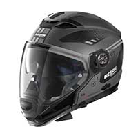 ノーラン n 70.2 Gt ベラヴィスタ n-コムモジュラーヘルメットブラックフラットグレー