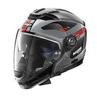 Nolan N70.2 Gt Bellavista N-com Modular Helmet Scratched Chrome