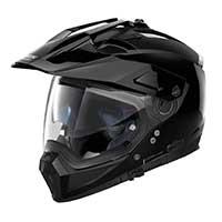 ノーラン n 70.2 x クラシック n-コムモジュラーヘルメット光沢ブラック