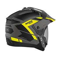 Nolan N70.2x Grandes Alpes N-com Modular Helmet Black Yellow
