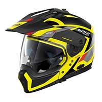 Nolan N70.2X Grandes Alpes N-Comモジュラーヘルメットイエロー