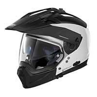 Nolan N70.2x Special N-com Modular Helmet Pure White