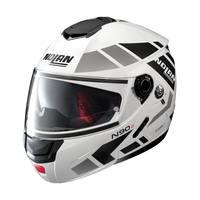 Nolan N90.2 Euclid N-com Modular Helmet White