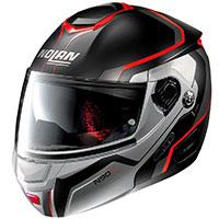 Nolan N90.2 Meridianus N-com Red Black Flat