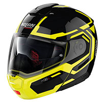 Nolan N90.3 Driller N-com Glossy Black Yellow