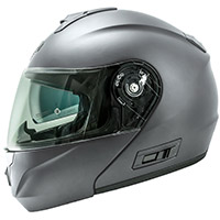 Nos Ns 8 Seal Modular Helmet Grey Matt