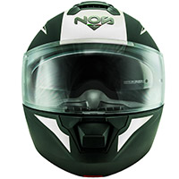 Nos Ns 8 Triton Modular Helmet White Matt