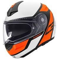 Schuberth C3 Pro Echo Matt Orange Fluo