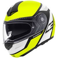 Schuberth C3 Pro Echo Matt Yellow Fluo
