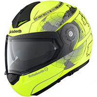 Schuberth C3 Pro Matt Fluo Yellow Europe