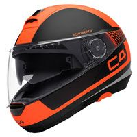 Schuberth C4 Legacy Matt Black Orange