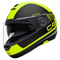 Schuberth C4 Legacy Black Yellow