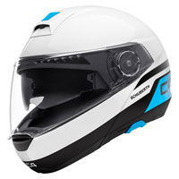 Schuberth C4 Pulse White Blue